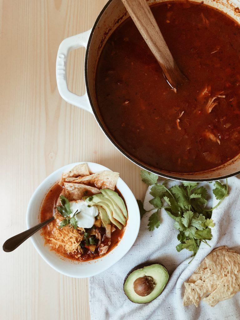 Chicken Tortilla Soup Recipe | Food | britstrawbridge