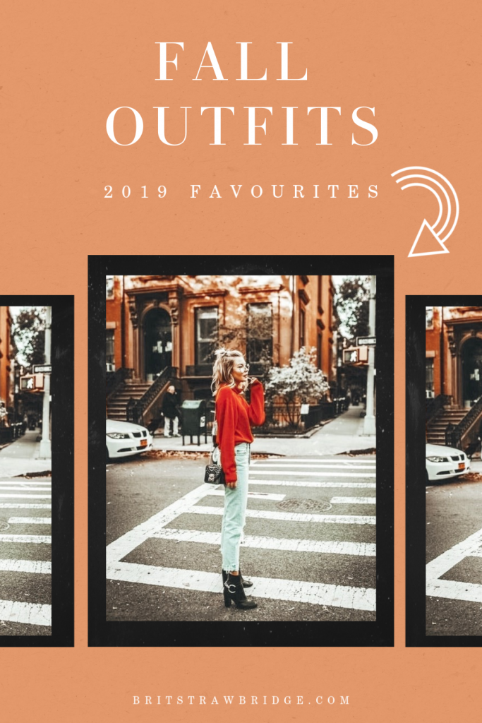 Favourite Fall Outfits in 2019 #falllooks #fallstyle #casualstyle #streetwear #fallfashion @britstrawbridge