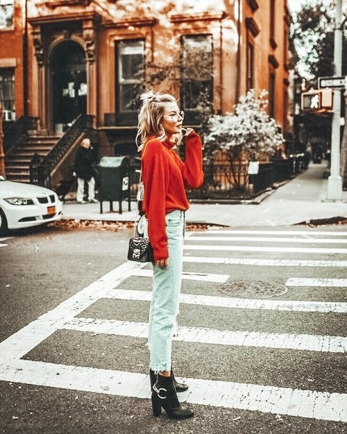 Favourite Fall Outfits in 2019 : The Jeans #falllooks #fallstyle #casualstyle #streetwear #fallfashion @britstrawbridge