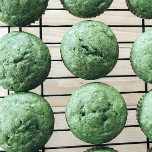 Sweet Green Muffins Recipe